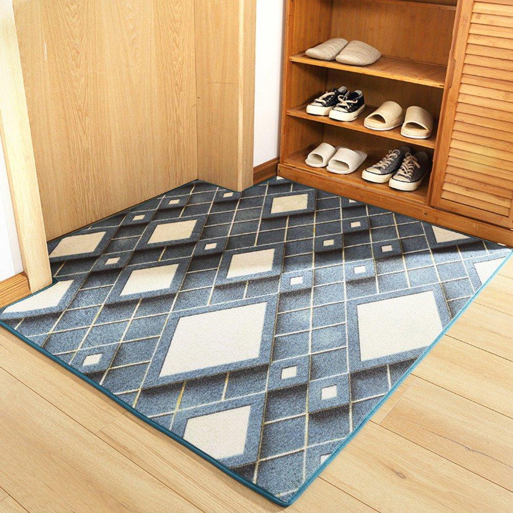 ZY 3D Stereo mat/Indoor-matten/Home eingangstür Foot mat-A 80x100cm(31x39inch)