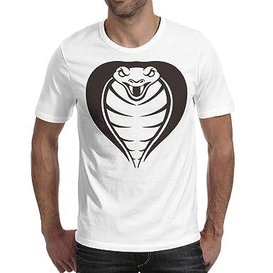 a531e1e889a Cobra Golf Cobra Head Attack Short Sleeve tee Shirt for Man s Cool Dry  Designer Art Tee
