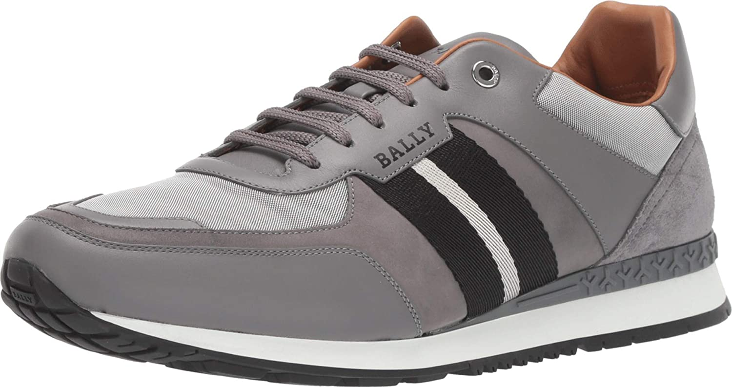 Disipar Prisionero Cusco  Bally Mens Aseo Sneaker 8.5 UK (US Men's 9.5) D (M): Amazon.co.uk: Shoes &  Bags