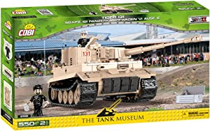 COBI The Tank Museum Collection Tiger 131 Sd.Kfz. 181 Panzerkampfwagen VI Ausf. E