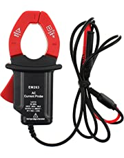 all-sun CAT III AC Current Probe Working with Multimeter DMM compatible ac Amp Measurement Digital Clamp Ammeter Tester