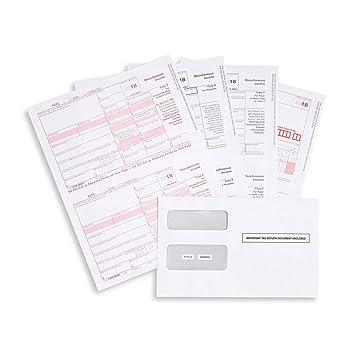 1099 form uk  7 MISC 7 Part Tax Forms kit, 7 Vendor Kit of Laser forms ...