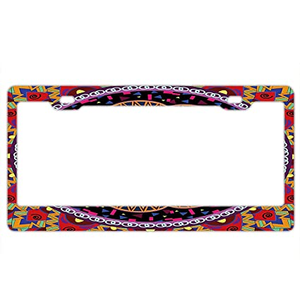 Amazon Personality License Plate Frame Vintage Style Wedding