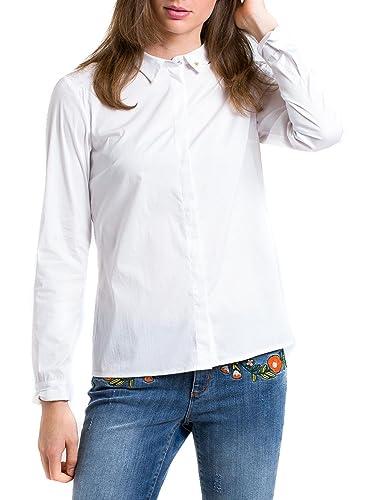 Naf Naf Camisa Hope Blanco