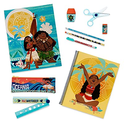 Disney Moana Stationery Supply Kit: Toys & Games