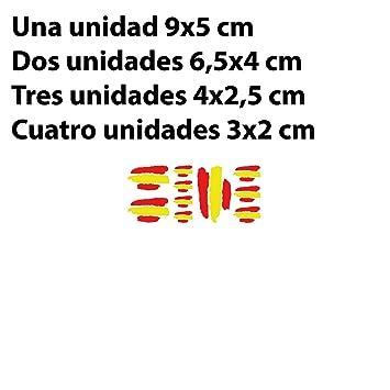 Amazon.es: Factor RS PEGATINAS BANDERAS DE ESPAÑA STICKERS AUFKLEBER DECALS MOTO MOTO GP BIKE COCHE (COLORES BANDERA ESPAÑA/SPAIN FLAG COLORS)