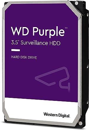 Western Digital 6TB WD Purple Surveillance Internal Hard Drive - 5400 RPM Class, SATA 6 Gb/s, , 64 MB Cache, 3.5