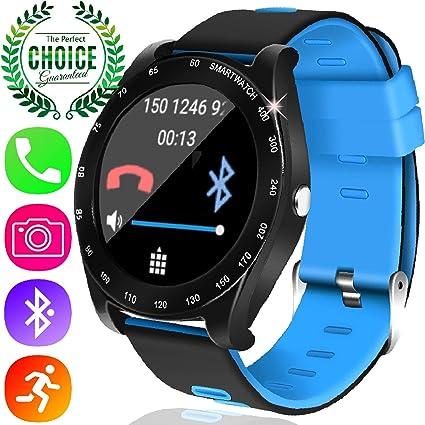 Amazon.com: Yak reloj inteligente con Bluetooch cámara y ...