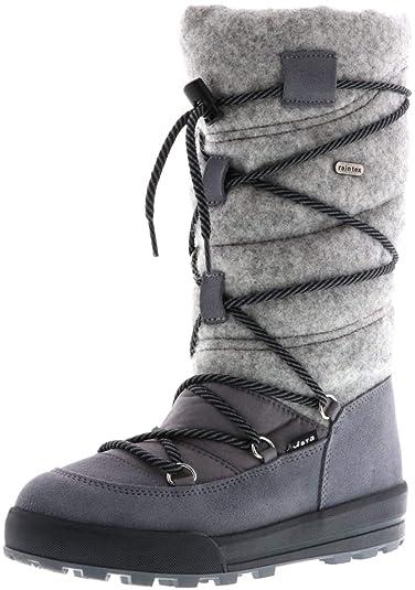vorbestellen noch eine Chance verrückter Preis Vista Damen Winterstiefel Snowboots grau: Amazon.de: Schuhe ...