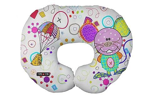 Tris&Ton Cojín de lactancia soporte de cuerpo, cojin almohada lactancia materna ergonómico maternidad modelo Mouse (Trisyton)