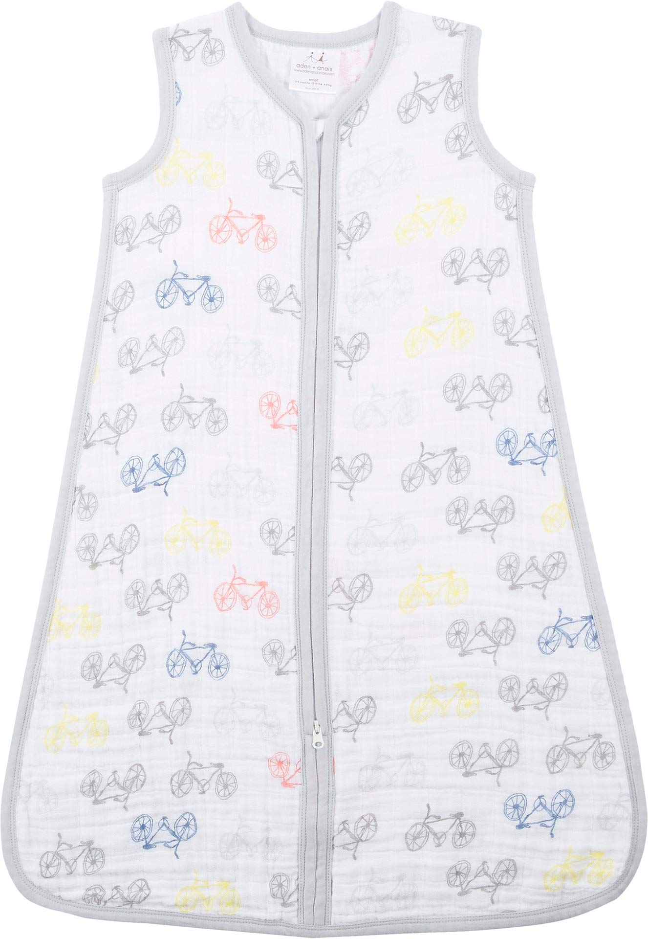 aden + anais Classic Sleeping Bag, 100% Cotton Muslin, Wearable Baby Blanket,