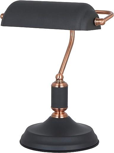 ILUMINACIÓN DE DISEÑO Lámpara mesa, 9 W, Negro: Amazon.es: Iluminación