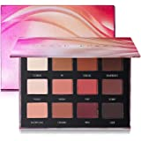 Peach Dream Palette - 12 Matte Eyeshadow Palette Brown Pink Red Neutral Warm Eye shadow Makeup Pallet by Prism Makeup
