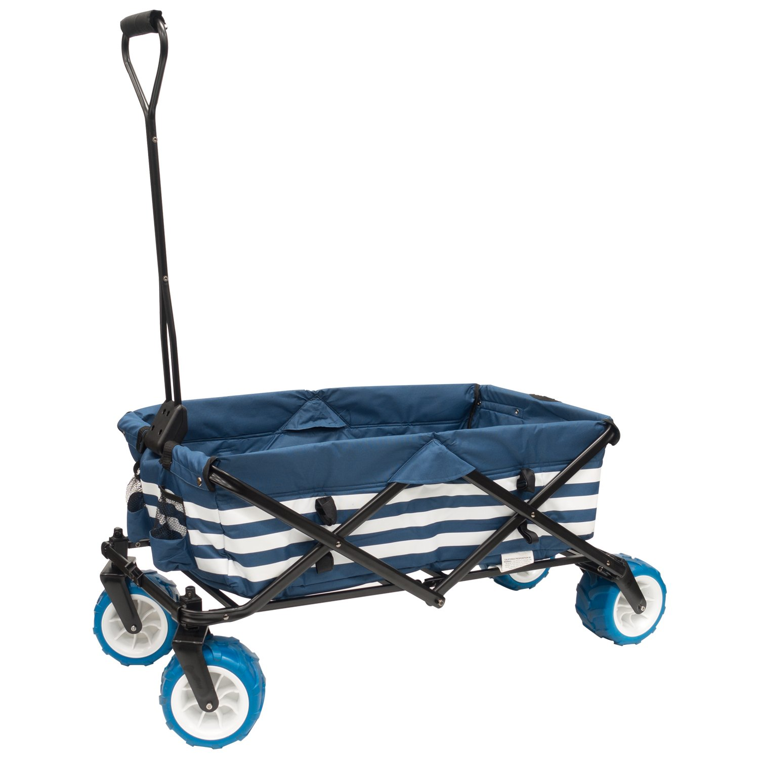Amazon.com   Creative Outdoor Collapsible Folding Wagon Cart for ... d1754c5f3f75