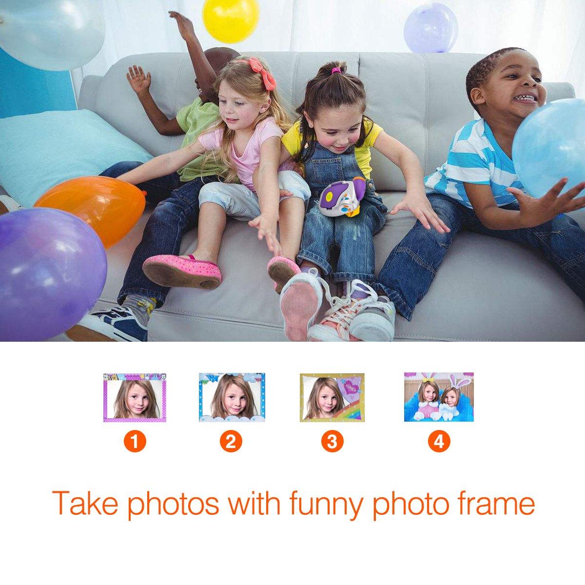 Digital Video Camera for Kids, AMKOV Kids Camcorder, 1.44 Inch Full-Color TFT Display Kids Camera by AMKOV (Image #7)