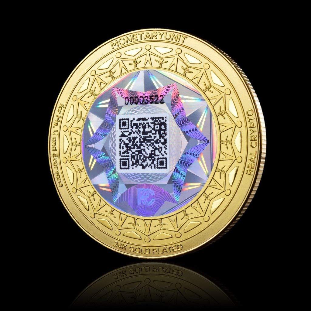 Moneda holográfica MonedaryUnit: Amazon.es: Electrónica