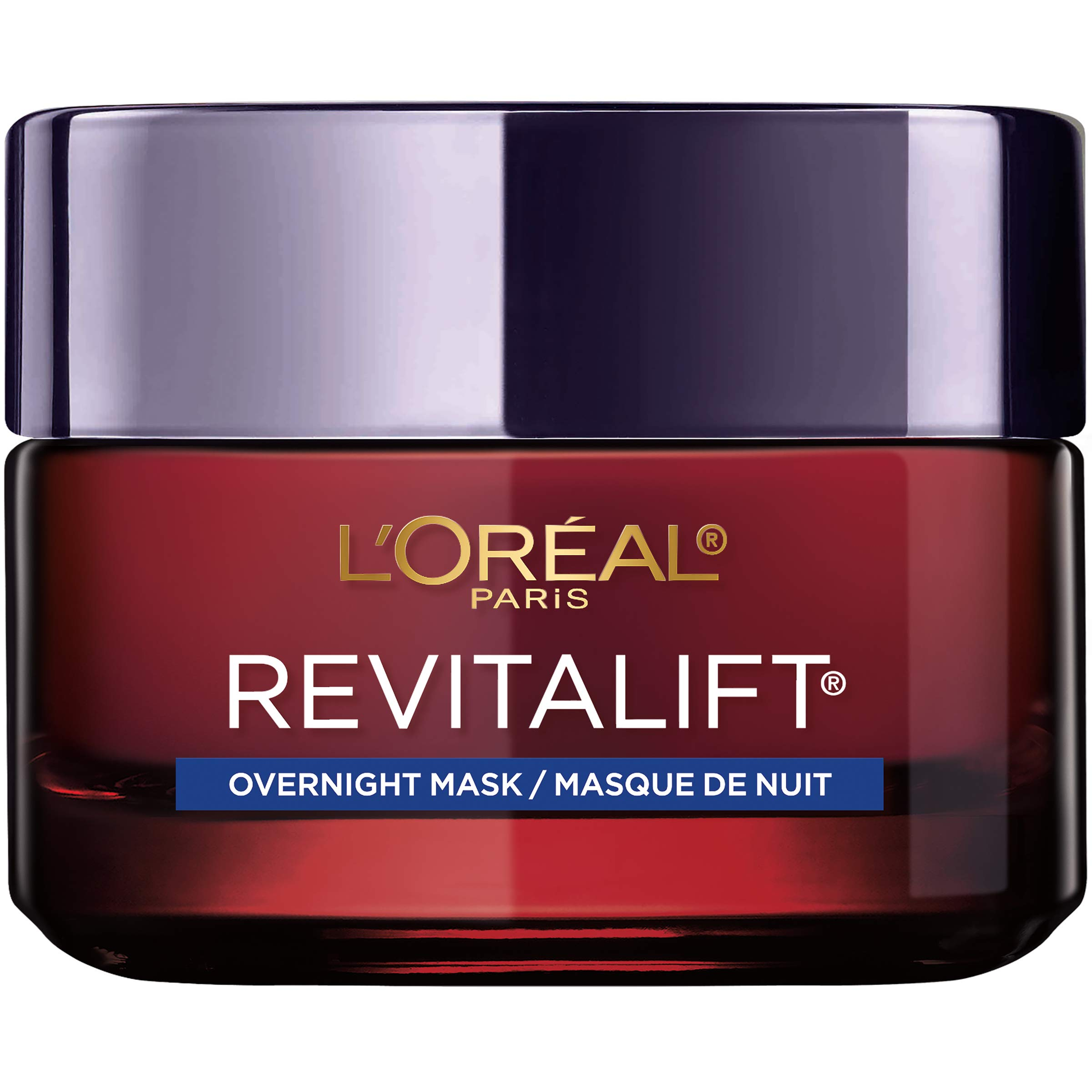 L'Oreal Paris Skincare Revitalift Triple Power Intensive Overnight Face Mask with Pro Retinol, Vitamin C and Hyaluronic Acid, to Visibly Reduce Wrinkles, Firm and Brighten Skin, 1.7 Oz