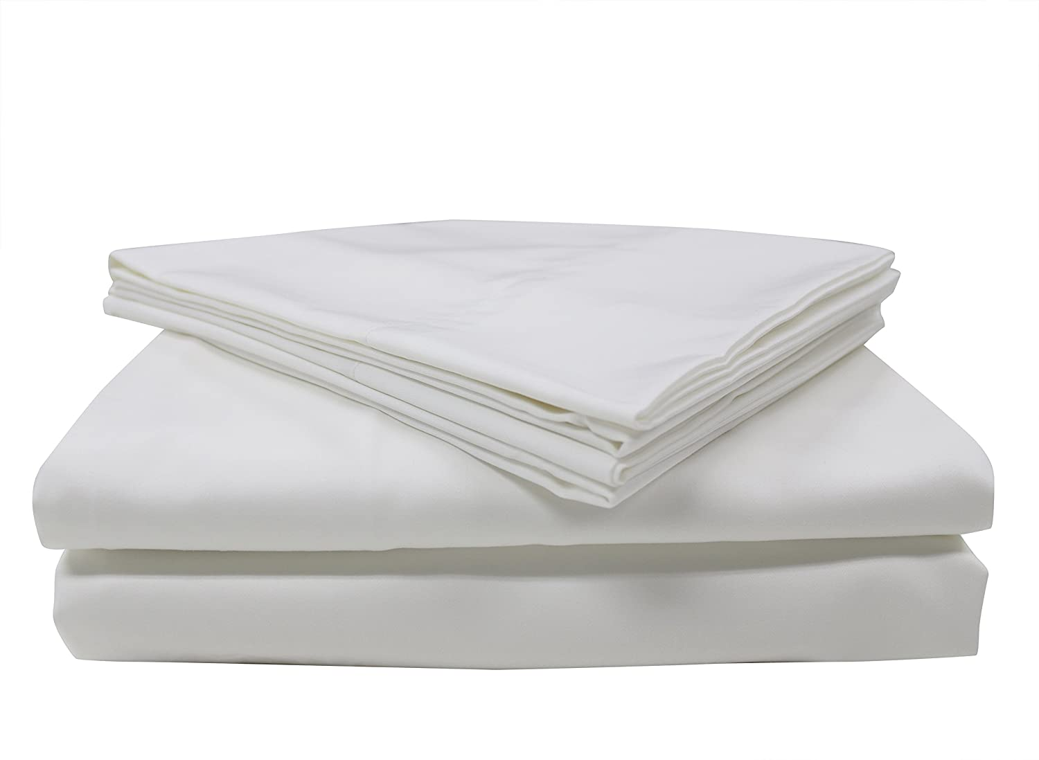 Mytex 400TC Wrinkle-Less Cotton Plus Coolest Comfort with Nanotechnology Sheet Set King Silver