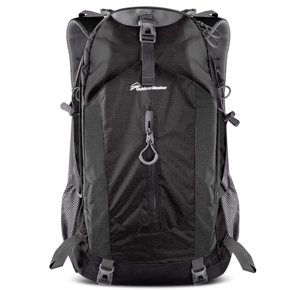 e42f9fb9ef Amazon.com   OutdoorMaster Hiking Backpack 50L - Hiking   Travel Backpack w Waterproof  Rain Cover   Laptop Compartment - for Hiking