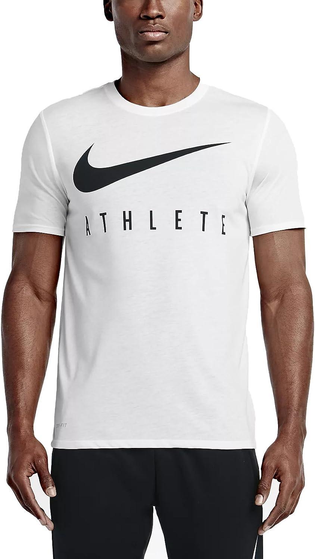 NIKE M Nk Dry Db Athlete - Camiseta Hombre: Amazon.es: Ropa y ...