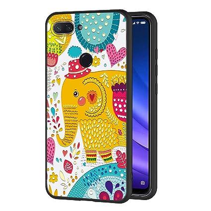 Amazon.com: Eouine Xiaomi Mi 8 Lite - Carcasa de silicona ...