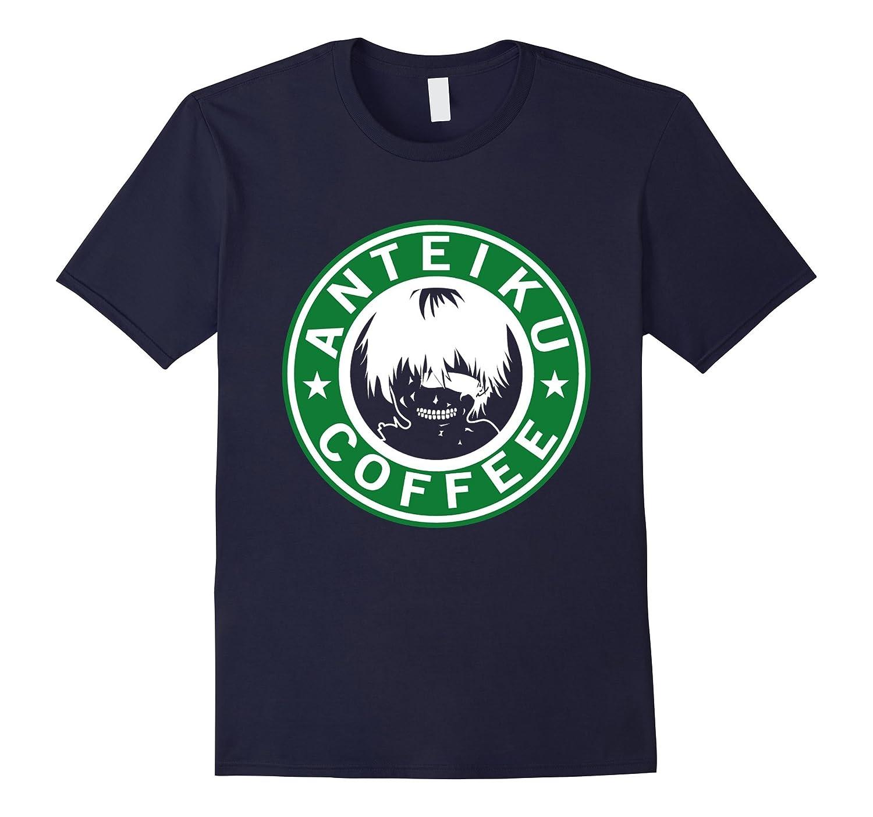 Anteiku Coffee Tokyo Ghoul Parody T-Shirt-BN