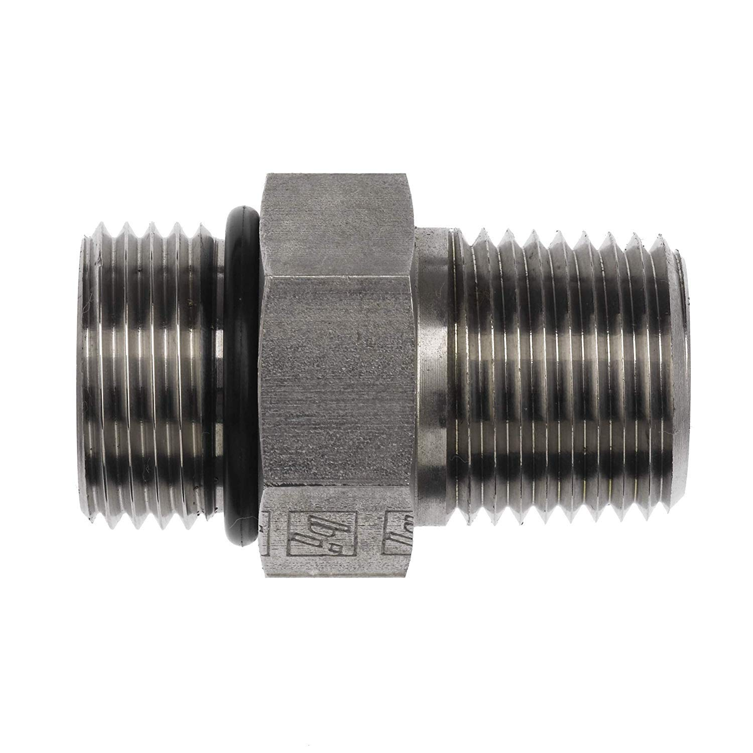 6401-05-04 Hydraulic Fitting 5//16 Male BOSS X 1//4 Male Pipe Carbon Steel