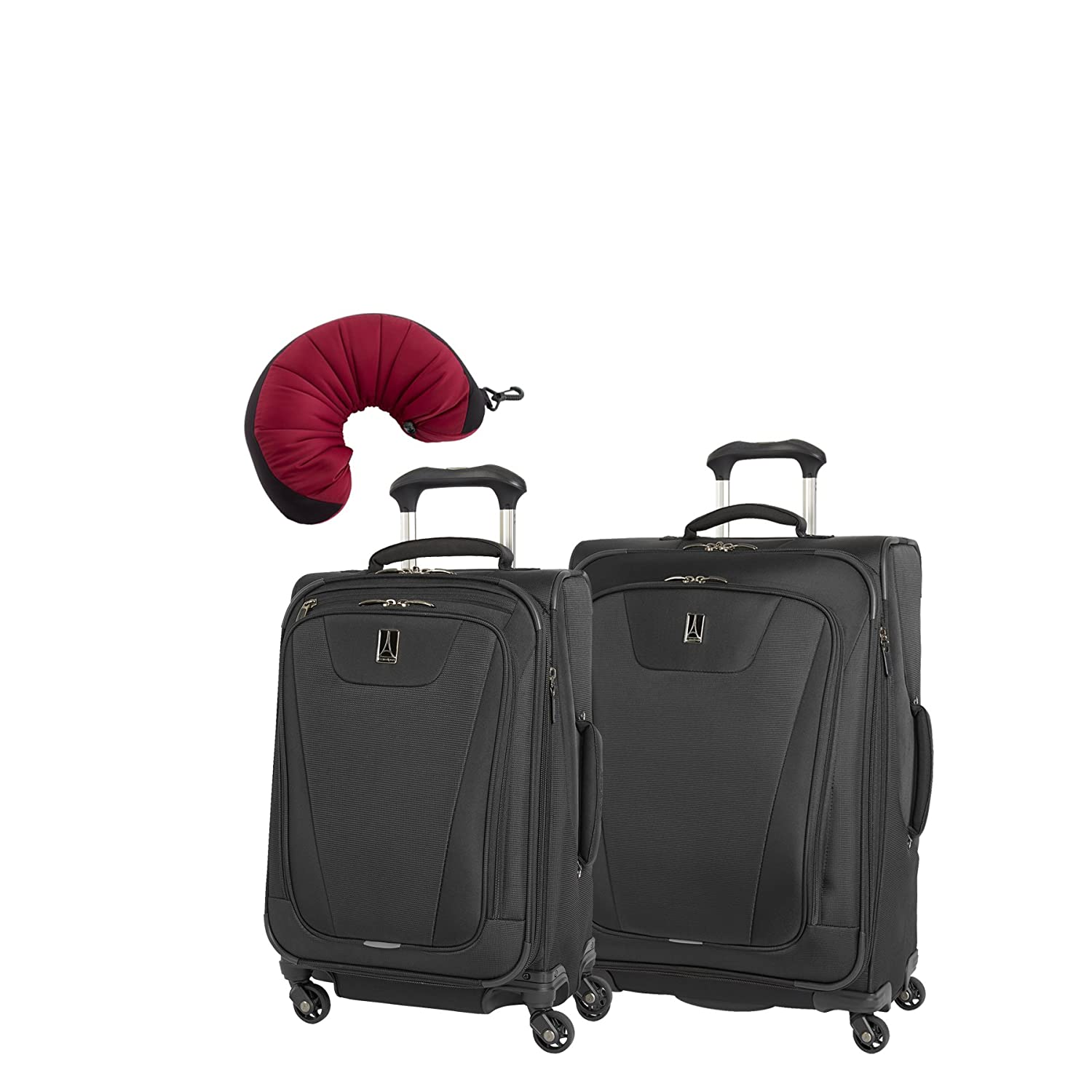 Purple Travelpro Maxlite 4 2 Piece Set of 21 and 25 Spinner