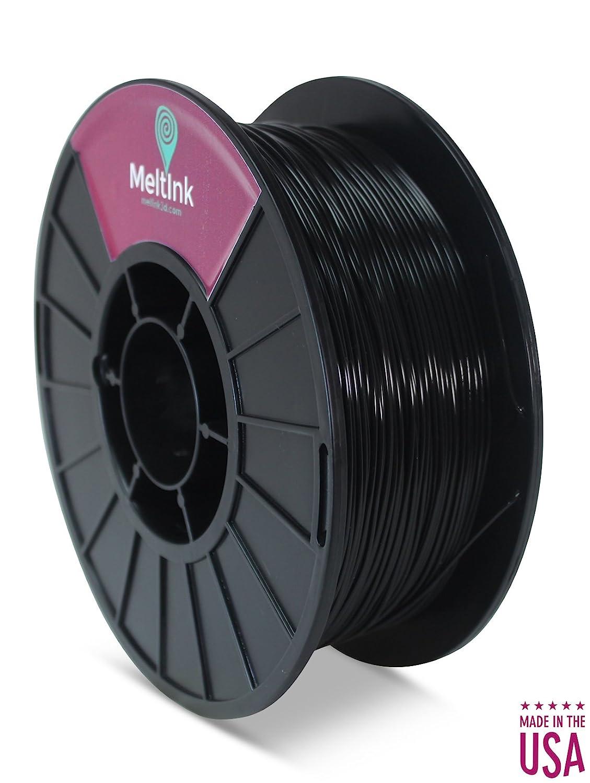 meltink3d negro 2,85 mm PLA/PHA impresora 3d filamento 1 kg ...