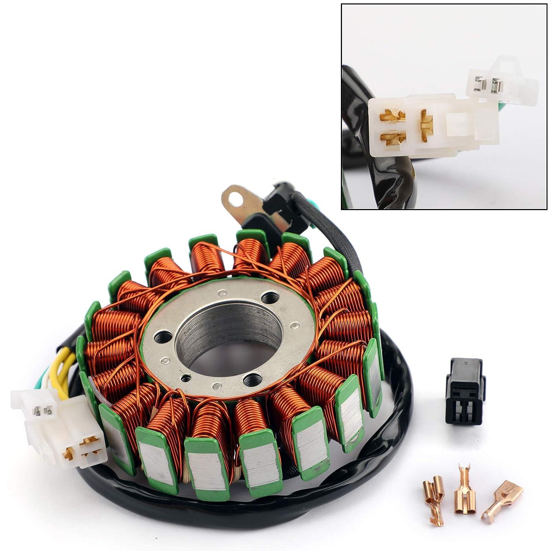 Artudatech Moto Magneto Stator Coil 18 poli Generatore di Bobina di Accensione Generatore di Motore Statore per SV650 S ABS 03-12 DL650 ABS V-Strom 650 2004-2016