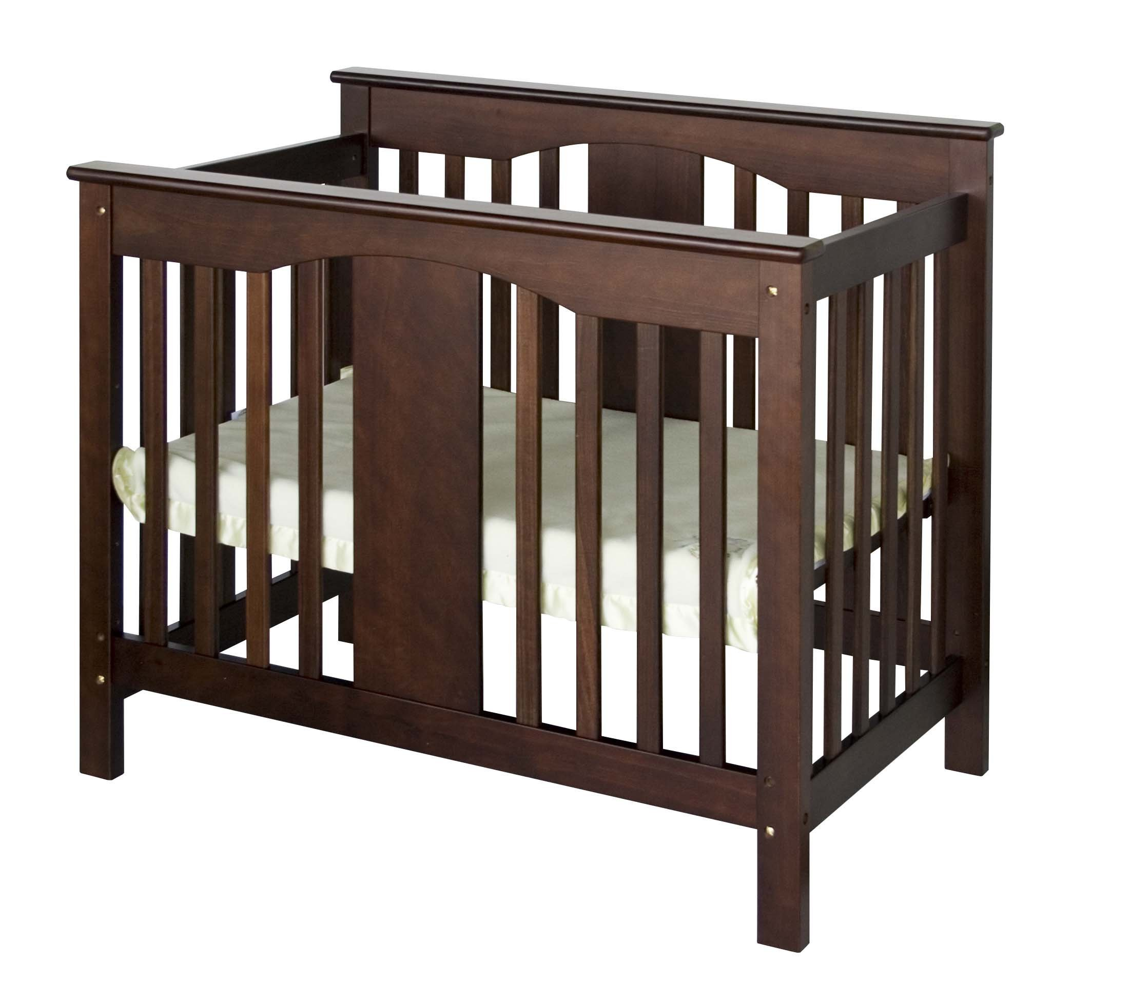 DaVinci Annabelle 2-in-1 Mini Crib and Twin Bed, Espresso