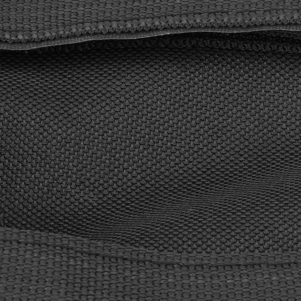 Elerose Manijas del agarre de la mano de las barras del gancho agarrador del techo del coche 2pcs Negro