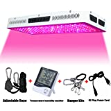 Phlizon Newest 2000W High Power Series Plant LED Grow Light,with Thermometer Humidity Monitor,with Adjustable Rope,Double Chips Full Spectrum Grow Lamp for Indoor Plant