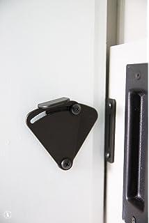 HippoCo Rolling Sliding Wood Barn Door Latch Lock Hardware | Sliding Pocket Door  Latch Lock Privacy