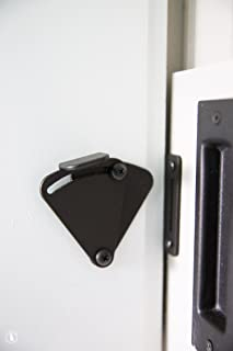 HippoCo Rolling Sliding Wood Barn Door Latch Lock Hardware | Sliding Pocket Door Latch Lock Privacy & Amazon.com: Tibres - Sliding Barn Door Latch Lock for Locking Barns ...