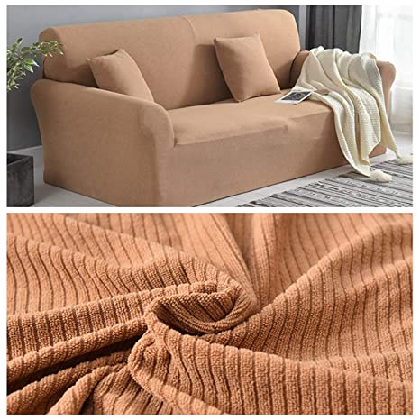AILY L Shape Sofa Covers Sectional Cloth Fabric Couch Cover ...