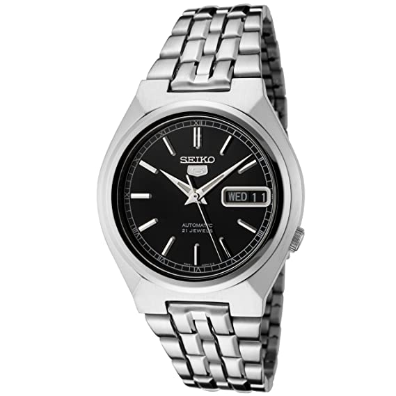Seiko Watches SNK307K - Reloj de Pulsera Hombre, Acero Inoxidable, Color Plata: Seiko: Amazon.es: Relojes