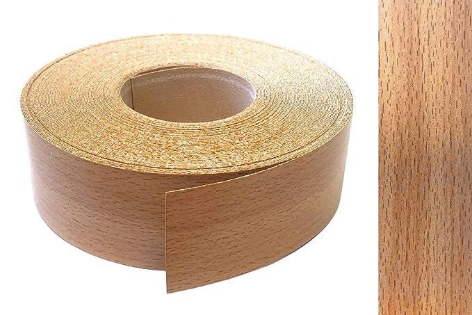 EisenRon - Cinta de melamina para bordes (22 mm x 10 m), color marrón: Amazon.es: Bricolaje y herramientas
