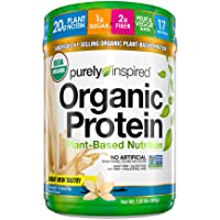 Purely Inspired Organic Protein Shake Powder, 100% Plant Based with Pea & Brown...