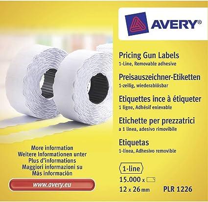 Cartuccia inchiostro per prezzatrici Avery Denniso