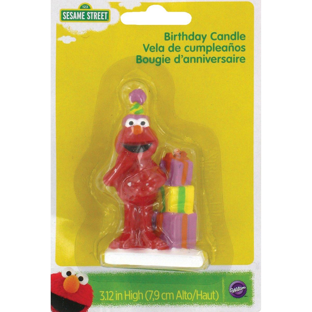 Wilton Elmo Birthday Candle 2811-3464
