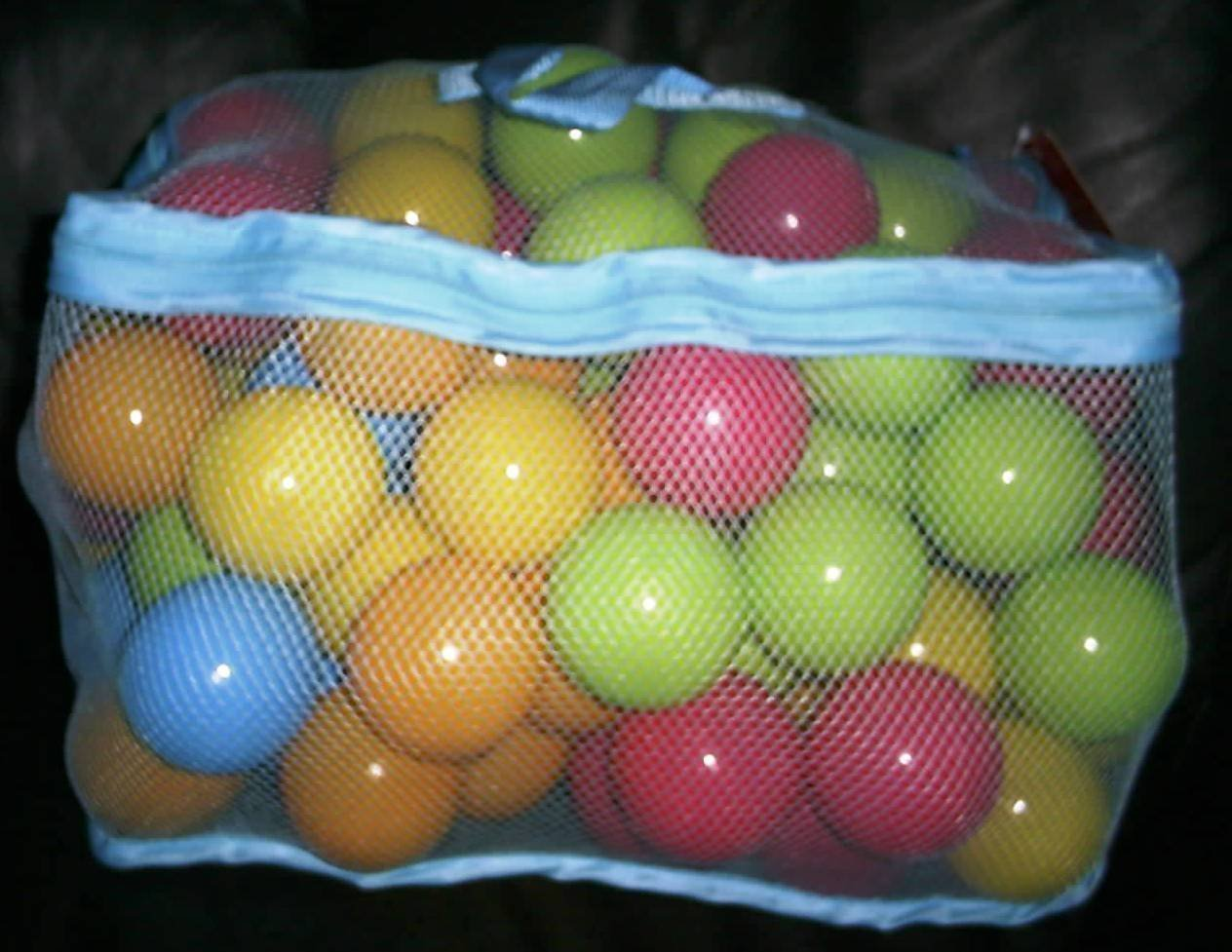 Chad Valley Bag of 100 Multi-Coloured Play Balls. by Chad Valley ToyCentre 100 x1