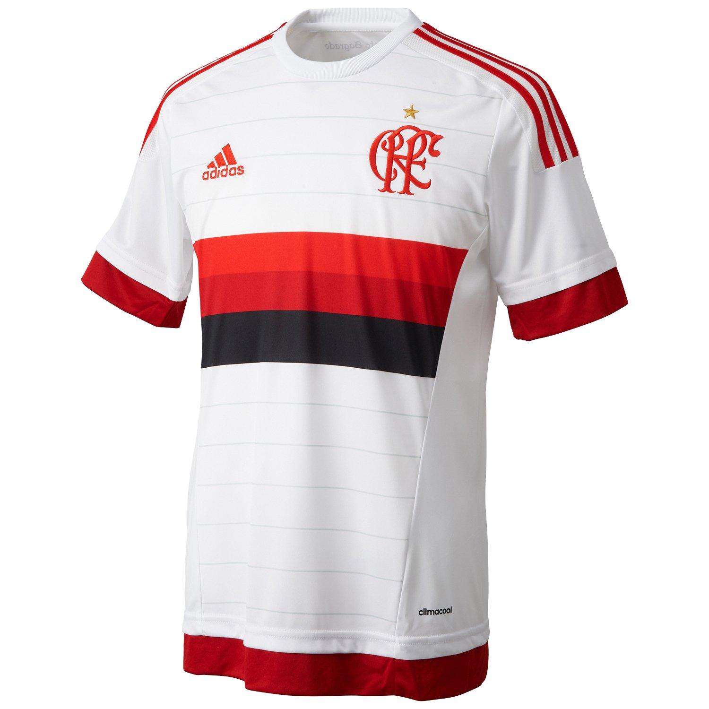 Amazon.com : adidas CR Flamengo Rio de Janeiro Jersey 2015/16 Away : Sports & Outdoors