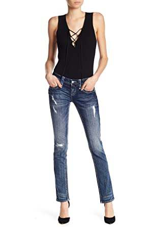 dce99b421f11df Rock Revival Womens Alivia Straight Jeans Denim Pant at Amazon Women's Jeans  store