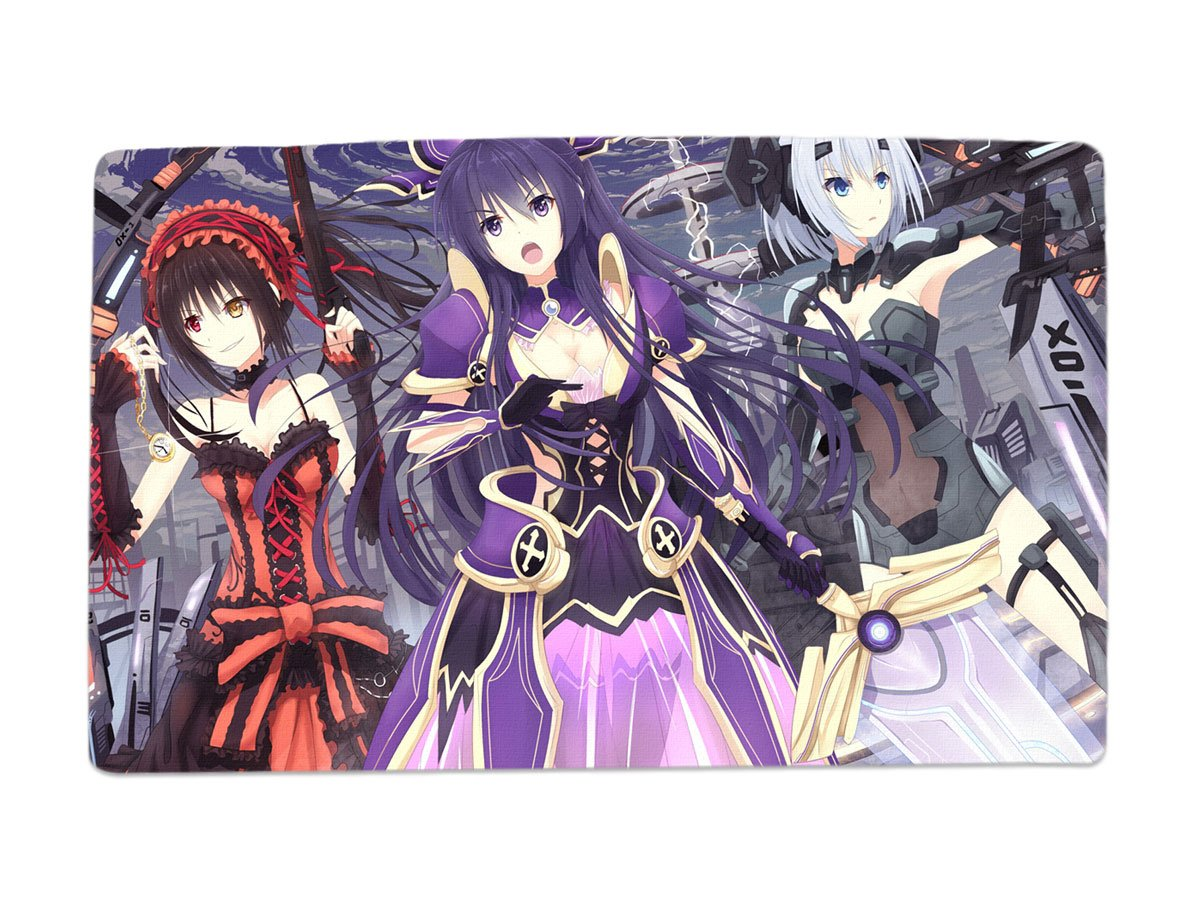 A Wide Variety of Date a Live Characters Desk & Mouse Pad Table Play Mat  (Group Photo 7)