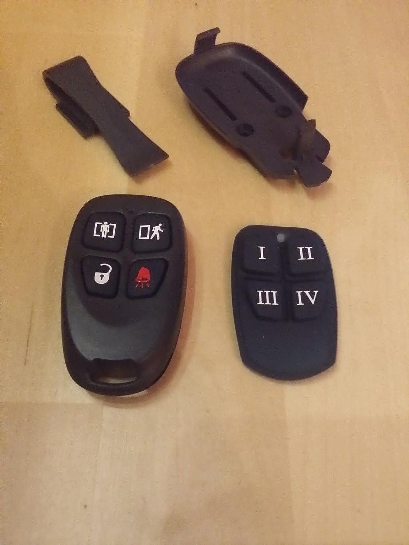 Sistema de Alarma de Seguridad DSC WS8939 4 Botones ...