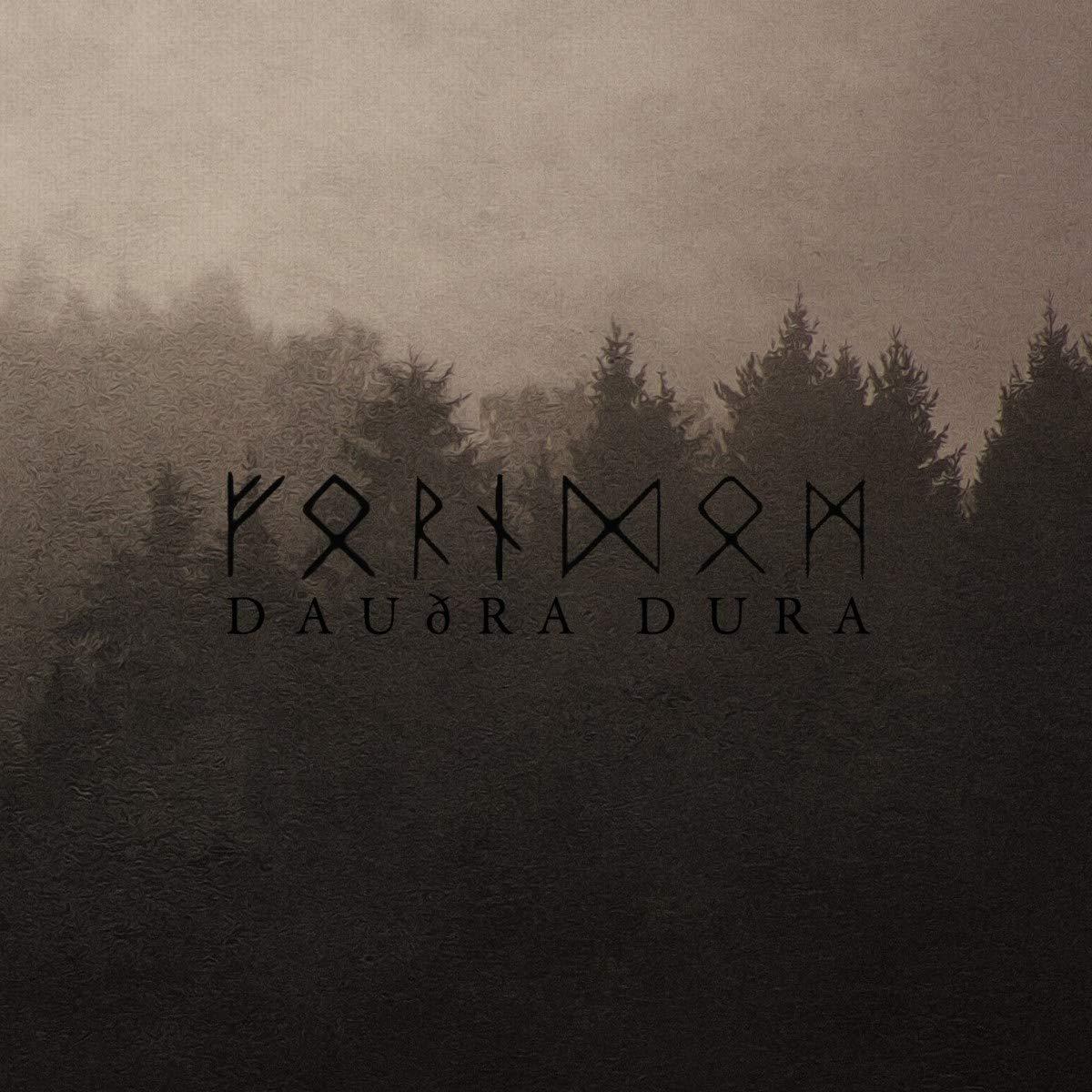 Vinilo : Forndom - Daudra Dura (LP Vinyl)