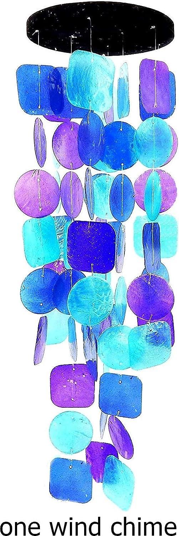 Campanas de Viento Artesanal (púrpura)