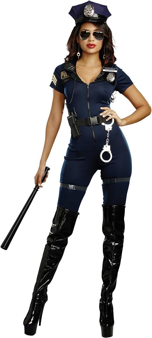 Amazon.com: Disfraz para mujer de teniente Ivana Misbehave ...