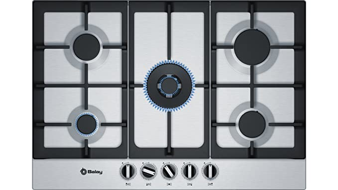 Balay 3ETX676HB hobs Acero inoxidable Integrado Encimera de gas ...